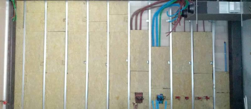 Isolamento acustico e assorbimento acustico milano iti srl for Isolamento termico pareti interne