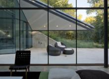 pareti vetrate interne per case