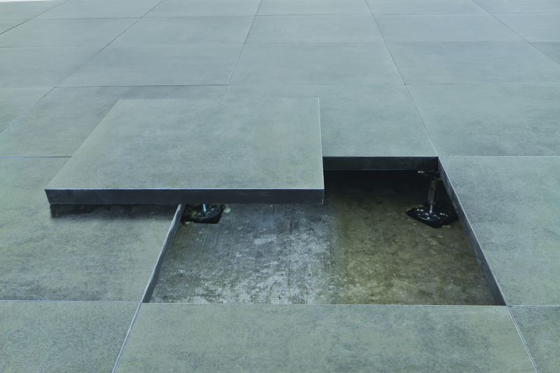pavimento sopraelevato per interni