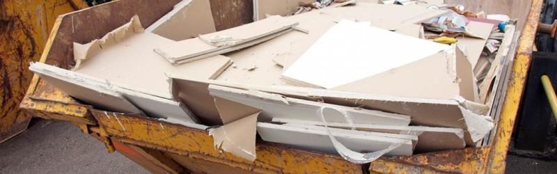 smaltimento dei rifiuti in cartongesso